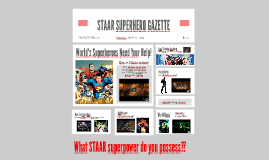 Copy of Copy of STAAR SUPERHEROES