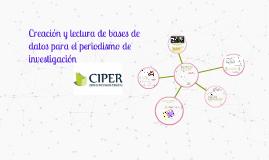 Copy of Creación y lectura de bases de datos para el periodismo de investigación
