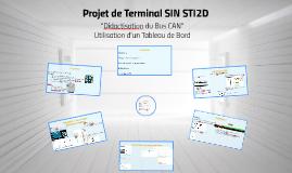 Copy of Projet de Terminal SIN STI2D