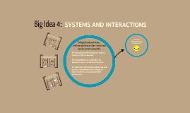 Copy of AP Biology Big Idea #4