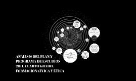 Copy of Copia de Copy of ANÁLISIS DEL PLAN Y PROGRAMA DE ESTUDIOS 2011. CUARTO GRADO.