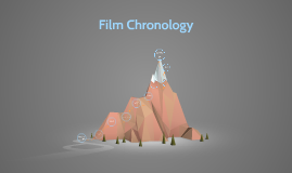 Session #9 (October 21): Film Chronology