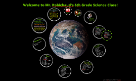 Copy of Welcome to Mr. Robichaud's 6th Grade Science Class!