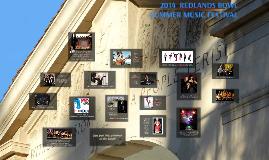 Copy of 2014 Redlands Bowl Summer Music Festival