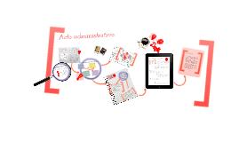 Copy of Acto administrativo