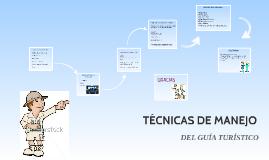 TÉCNICAS DE MANEJO