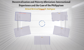 Decentralization and Poverty Alleviation: International Expe