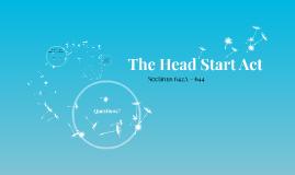 The Head Start Act