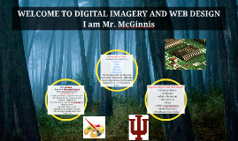 WELCOME TO DIGITAL IMAGERY AND WEB DESIGN