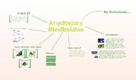 Arquitetura Bioclimática