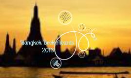 Bangkok Book Awards 2013