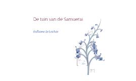De tuin van de Samoerai - Gail Tsukiyama