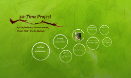 20-Time Project