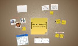 VBS 2014 Orientation