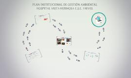 PLAN INSTITUCIONAL DE GESTIÓN AMBIENTAL