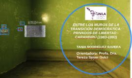 Copy of ENTRE LOS MUROS DE LA TRANSICIÓN DEMOCRÁTICA: PRIVADOS DE LI