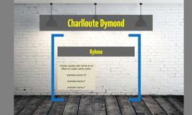 Charlloute Dymond