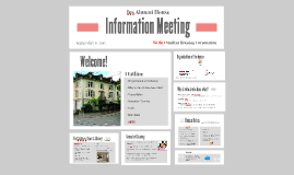 Information Meeting Ius Alumni House