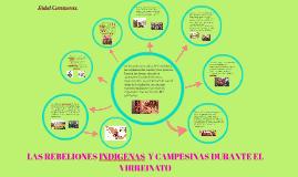 Rebeliones indígenas y campesinas en el virreinato