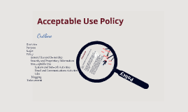Copy of Copy of Acceptable Use Policy
