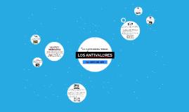 LOS ANTIVALORES
