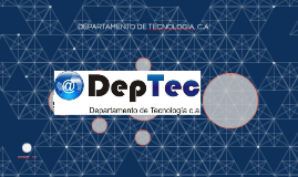 DEPARTAMENTO DE TECNOLOGIA, C.A
