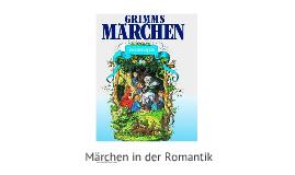 Märchen in der Romantik
