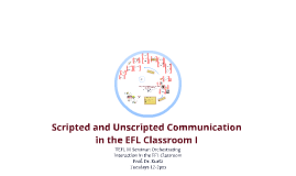 4:3v. Copy of Scripted and unscripted communication in the EFL classroom