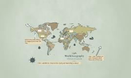 Copy of Copie de World Geography
