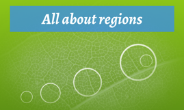 All about regions