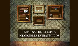 EMPRESAS DE LA COM.3 INTANGIBLES ESTRATÉGICOS
