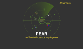 How Fear is used to Gain Power