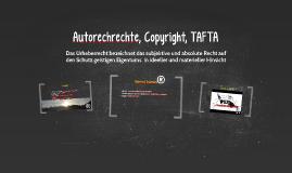 Autorechrechte, Copyright, TAFTA