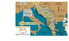 The Balkans: 1941-1945