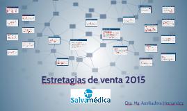 Copy of Estretagias de venta 2015