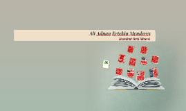 Ali Adnan Ertekin Menderes