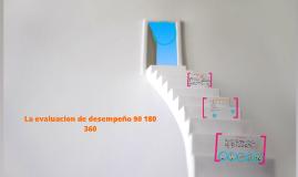 Copy of La evaluacion de desempeño 90 180 360