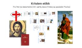 Kristen etikk