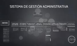 Copy of SISTEMA DE GESTIÓN ADMINISTRATIVA