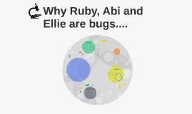Why Ruby, Abi and Ellie are bugs....