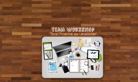Copy of Team Workshop