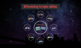 Differentiating for higher abilities