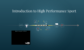 5LFS1019 Introduction to High Performance Sport