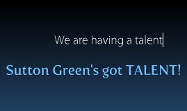 sutton greens got talent