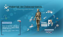 Material de Osteosintesis