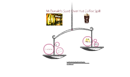 Mcdonald's Sued Over Hot Coffee Spill