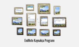 EndNote Kaynakça Programı