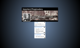 Important Progressives