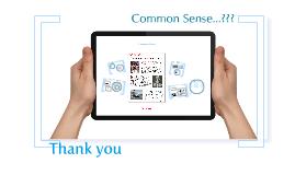 About Common sense_v1.0