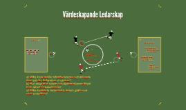 Värdeskapande Ledarskap